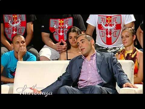 Cirilica - Mladen, Obradovic i Misa Vacic - Parovi - (TV Happy 29.5.2015.)