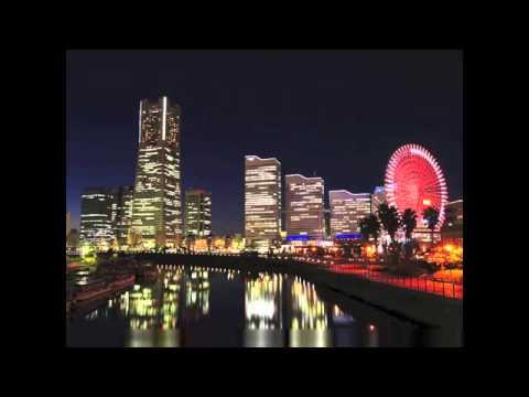 """YOKOHAMA Night"" Japan Relaxing Music,Background Guitar Music,Instrumental Music."