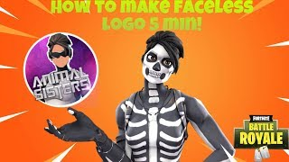 How to make a Fortnite faceless gfx logo really professional! (IOS and Android)