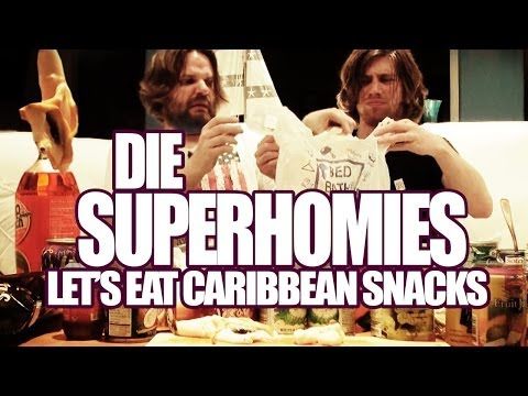 Die Superhomies In Der Karibik - Let's Eat Caribbean Snacks (mit Gronkh Und Sarazar)