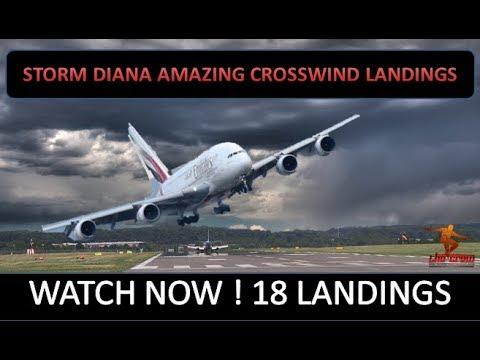 Ireland: Terrifying footage shows plane abort landing at