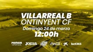 Villarreal B vs Ontinyent CF