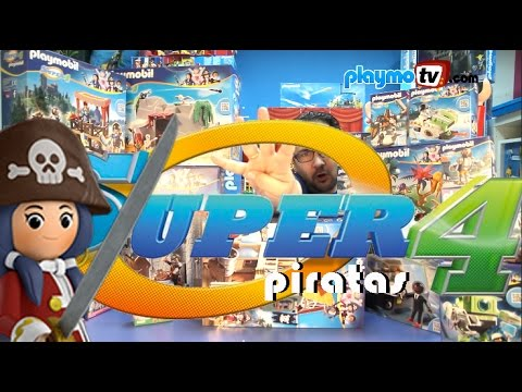 Novedad Playmobil  Super 4   Piratas