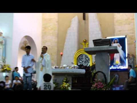 Thánh Lễ Kính Lòng Thương Xót Chúa của Cha Long trưa 14.7.2011