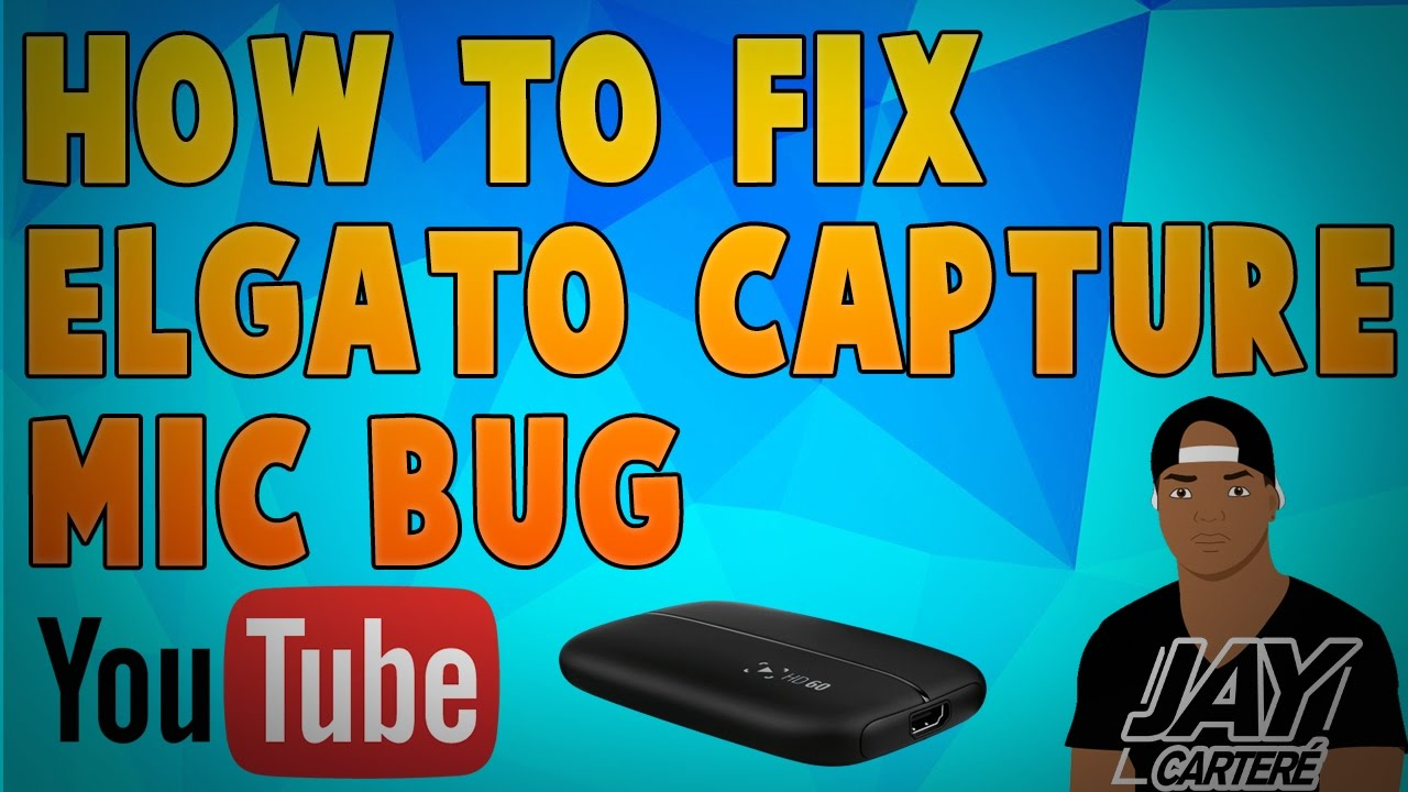 How To Fix Elgato Game Capture HD Mic Bug - Muted Mic Output Fix!