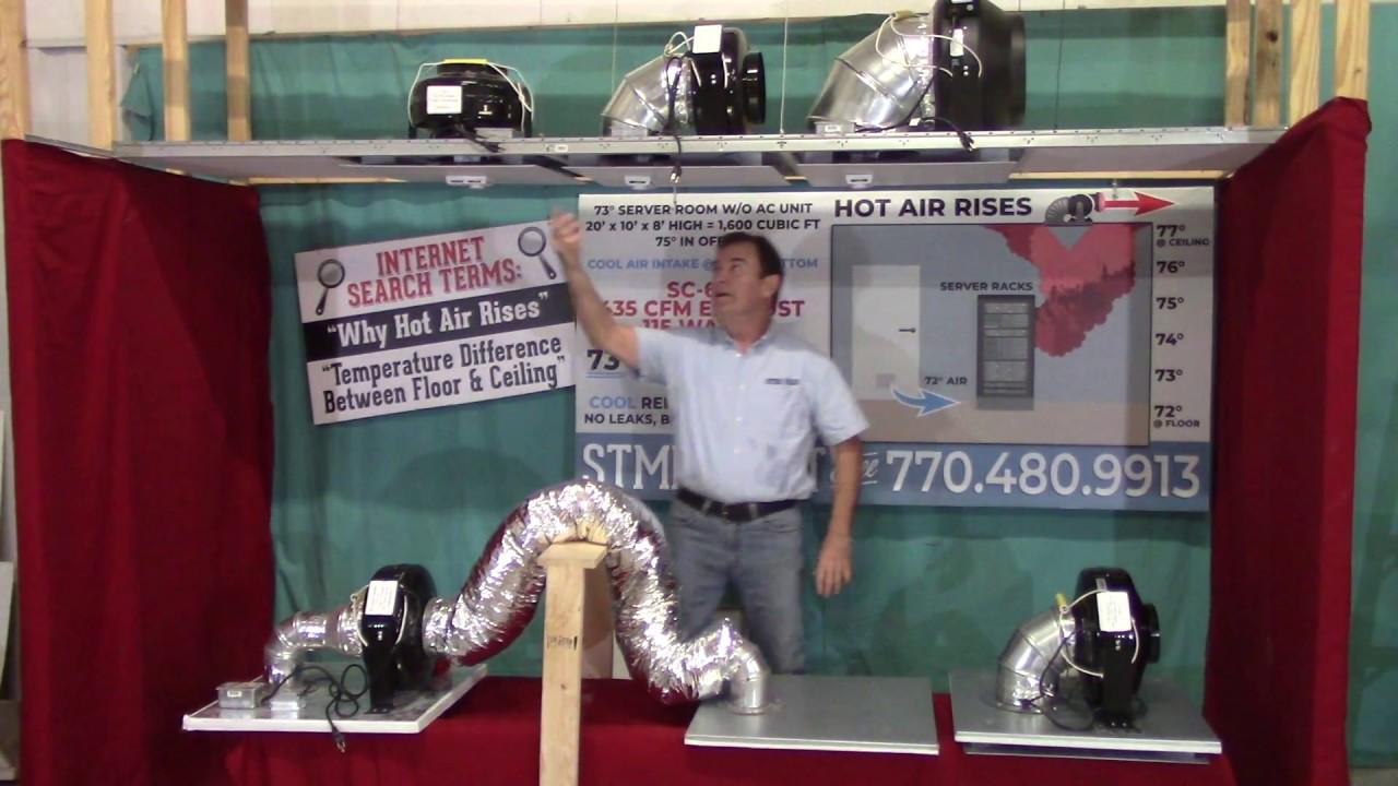 drop ceiling exhaust fan installation