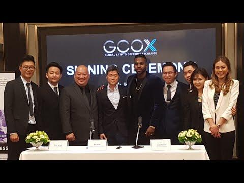 Jason Derulo X GCOX (Global Crypto Offering Exchange - BlockChains) Signing Ceremony KL 15/7/2018