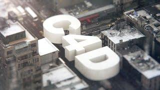 Как сделать 3D анимацию взрыва текстовой заставки в программе Cinema 4D, практический пример