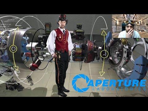 EXPLORER 02 - 👨🏻💻🔭🤖 - Infiltration Dans Aperture Science ! - [Robot Repair] - Découverte