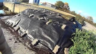 Бурт вермиложа готова к зиме  11.10.2014