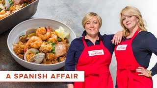 How To Make Spanish Tapas At Home: Paella On The Grill And Patatas Bravas