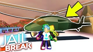 FIRST YOUTUBER TO BUY ATTACK HELICOPTER! *NEW* (Roblox Jailbreak ONE YEAR UPDATE)