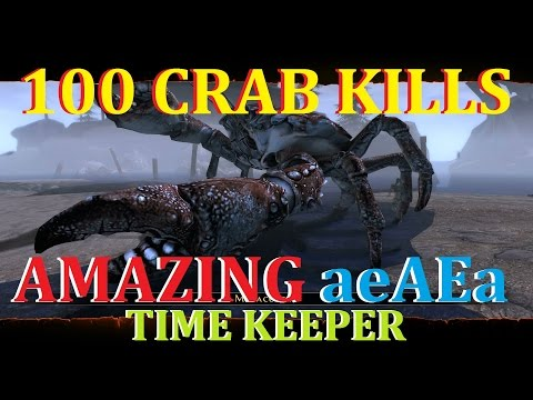 Neverwinter PVP aeAEa Amazing Time Keeper 100 CRAB KILLS
