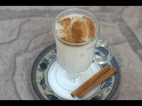 How to make horchata with rice flour