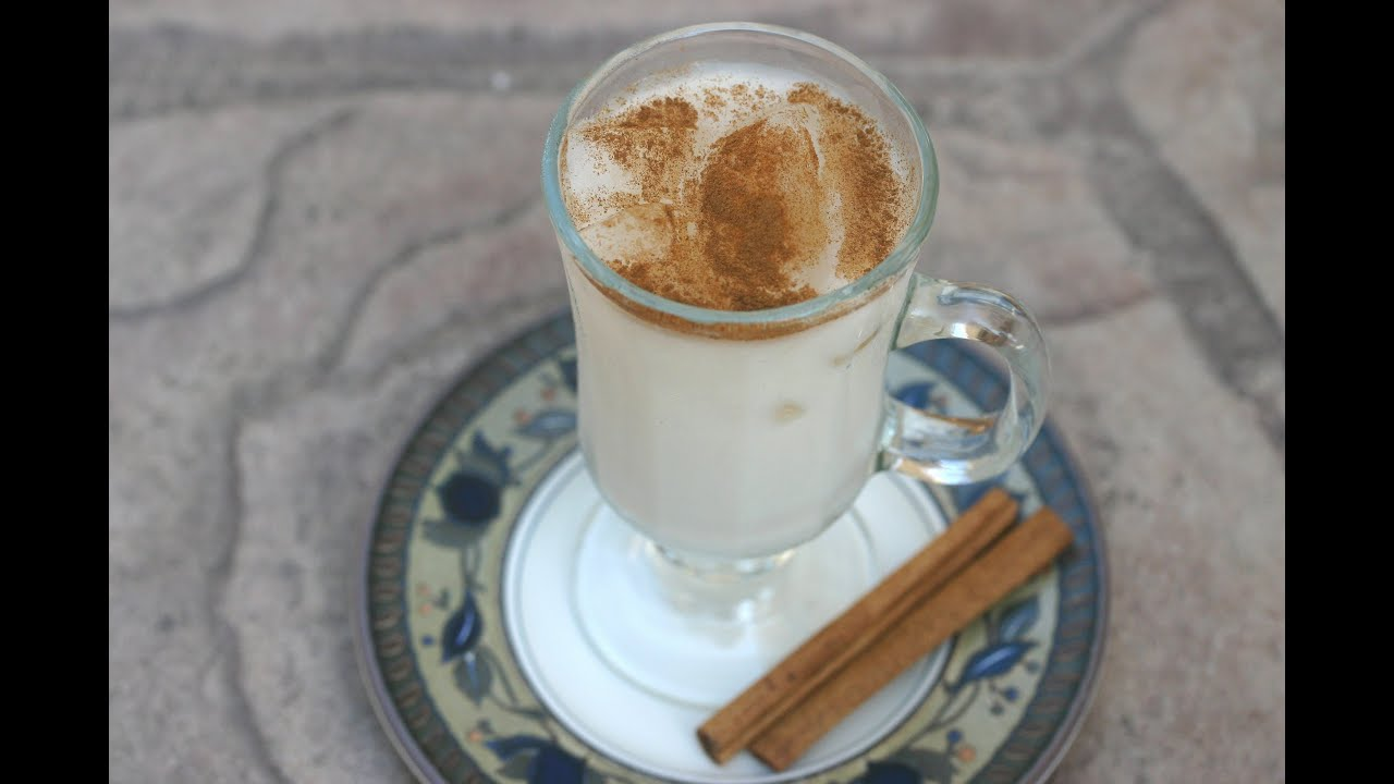 How To Make Horchata  A Refreshing Mexican Rice Drink With Cinnamon By  Rockin Robin