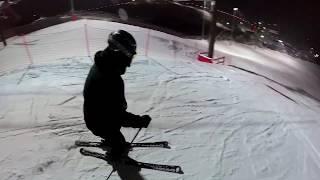 Вечернее катание - Свияжские холмы, декабрь 2018