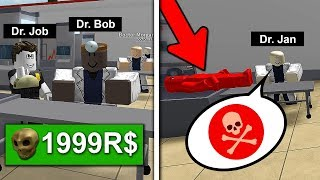 my OWN HOSPITAL opened! (Roblox)