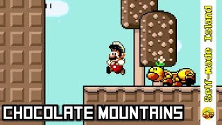 Chocolate Mountains • Super Mario World ROM Hack