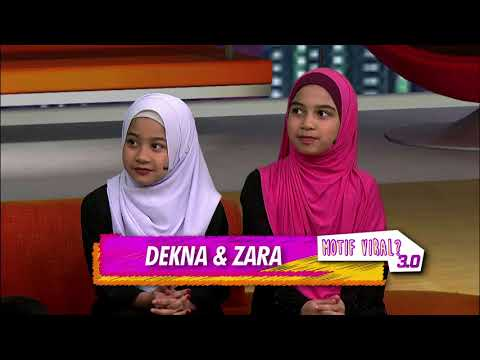MOTIF VIRAL: Hafazan Anak-Anak Tahfiz. Motif Host Terdiam?