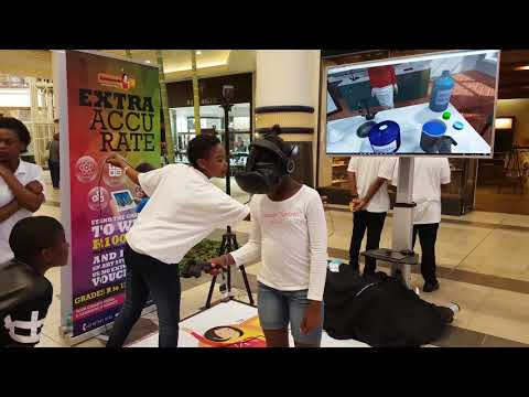 Extramarks Virtual Reality Game Activation in Durban South Africa