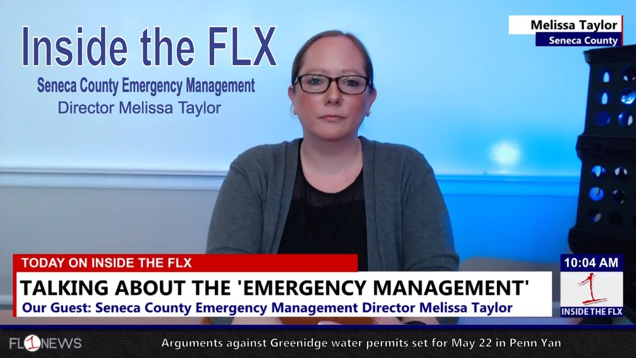 Melissa Taylor of Seneca Co. Emergency Management .::. Inside the FLX 5/17/18