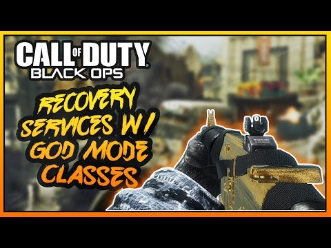 Black Ops 1 - Recovery Services w/ God Mode Classes! (BO1
