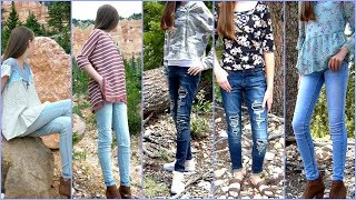 Back To School Clothes 2017, Fall Outfits and Fashion Show