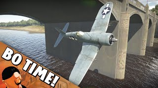 "War Thunder - F4U-1C ""Unkillable Corsair"""