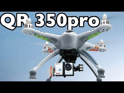 Walkera QR x350pro build video