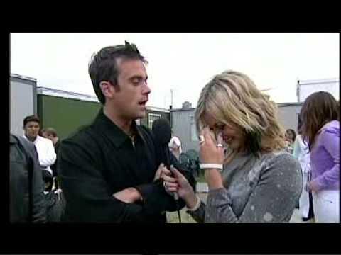 robbie williams - interview backstage