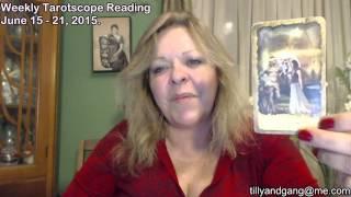Scorpio Weekly Tarot Scope Reading June 15 to 21 2015