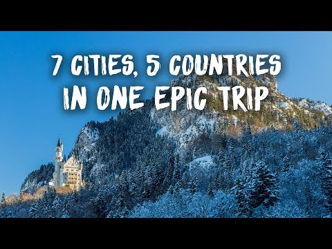 7 Cities & 5 Countries in one epic Eurotrip | Travel Vlog
