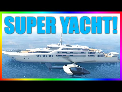 GTA 5 SUPER YACHT! $9,000,000 Spending Spree! (GTA Online: Executives and Other Criminals Update)