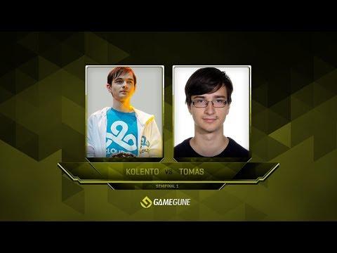 Kolento vs Tomas, Semi-final, GameGun 2017