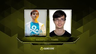 Kolento vs Tomas, Semi-final, GameGun 2017