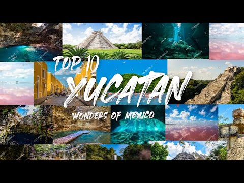 TOP 10 PLACES YUCATAN (Mexico)| Travel Guide| Costs