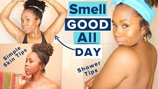 10 Ways to Smell Good ALL DAY LONG! | Skin Care   STOP Body ...