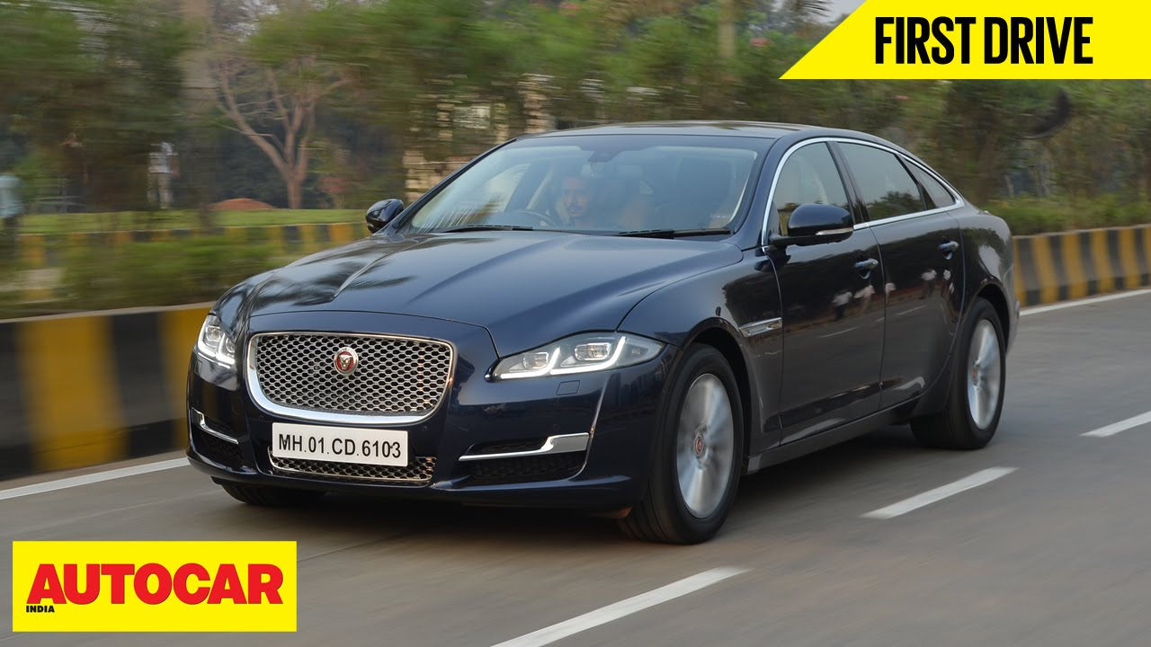 2016 Jaguar Xj First Drive Autocar India Youtube