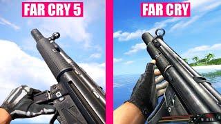 Far Cry 5 vs Far Cry 1 - Weapons Comparison