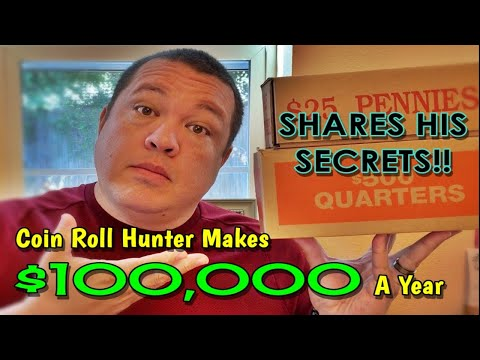 5 Things Successful Coin Roll Hunters Do To Earn A Six Figure Income!