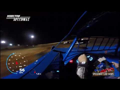 #79 Billy Flannagan Jr - Super Late Model - 3-17-18 Moulton Speedway - In Car Camera