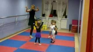 Урок хореографии для малышей 3 лет