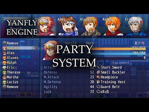 YEP 29 - Party System - RPG Maker MV