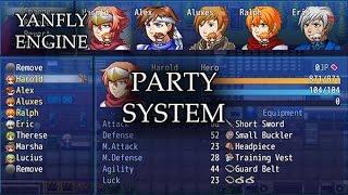 YEP.29 - Party System - RPG Maker MV