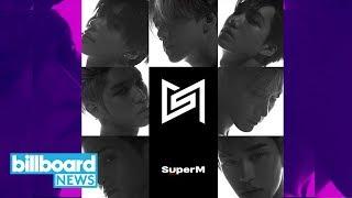 Gambar cover SuperM Makes Major Debut Atop Billboard 200 With 'The 1st Mini Album' | Billboard News