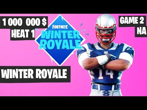 Fortnite Winter Royale Semifinal Heat 1 Game 2 NA Highlights [Fortnite Tournament 2018]