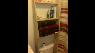 How To Create Your Own Toilet Shelf.