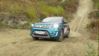 Suzuki Vitara New.  Тест-драйв новой Сузуки Витара на мотокроссовой трассе!