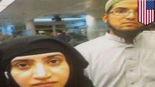 San Bernardino shooting: airport photograph of terrorist couple entering US surfaces - TomoNews