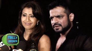 Ankita Bhargava Gives WEDDING TIPS To Divyanka and Vivek at RECEPTION PARTY